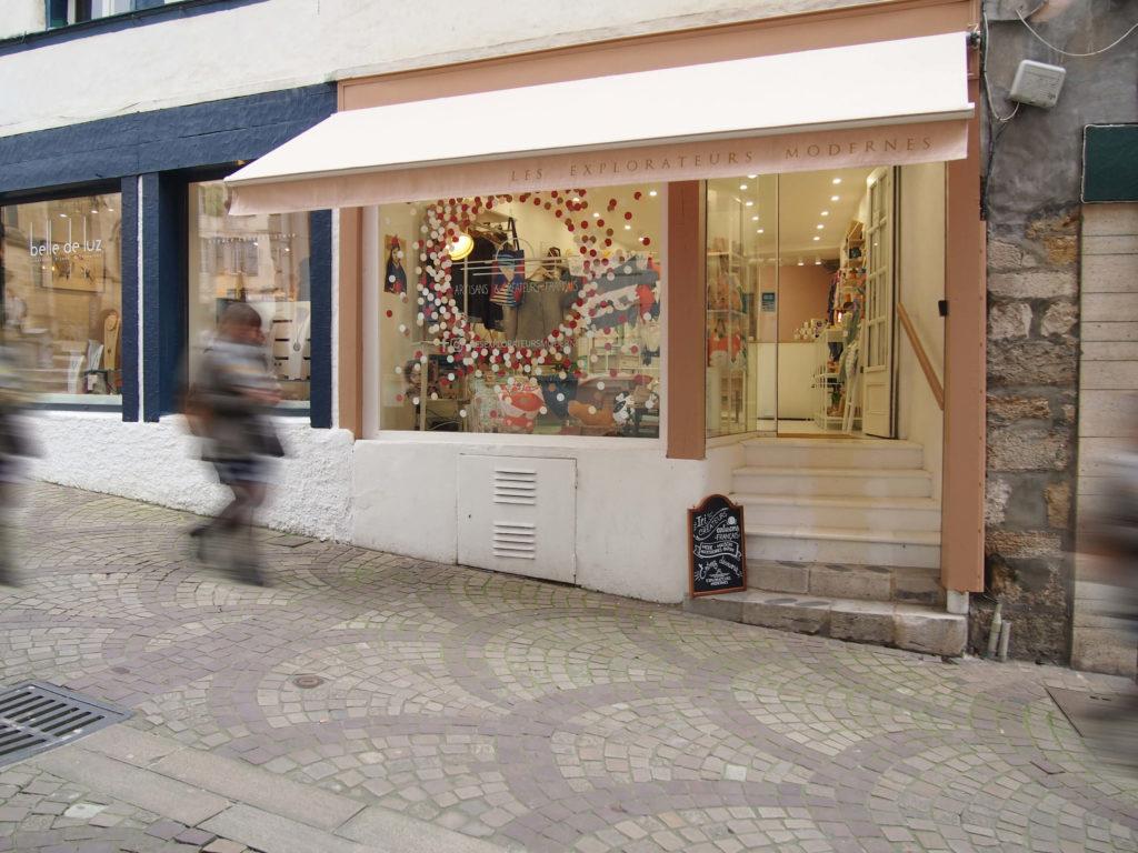 boutique créateurs artisans bayonne centre
