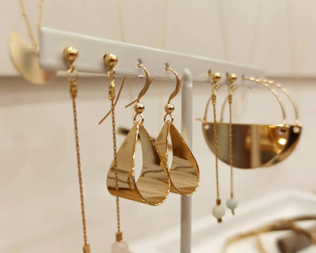 bijoux dorés or créateur